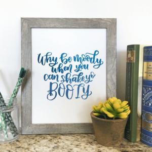 Melody Lane Press - Custom Hand Lettered Art Print